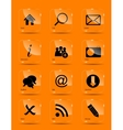 icon set for web vector image