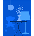 interior furniture vector image vector image