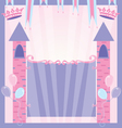 pretty princess party vector image