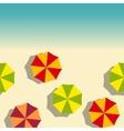 beach vertical seamless vector image