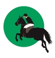 Equestrian sports design vector image