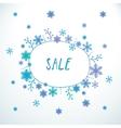 Cute doodle sale banner vector image