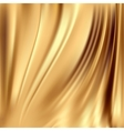 Gold silk backgrounds vector image