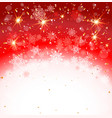 red holiday backdrop vector image