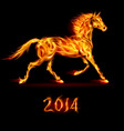 Fair Horse Run 2014 01 vector image