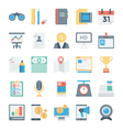 Digital Marketing Icons 4 vector image