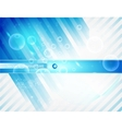 Abstract line and Stripe blue curve vector image