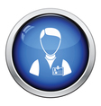 Icon of photographer vector image