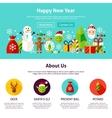Happy New Year Web Design vector image