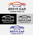 Car Drive Logo vector image