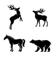 Animal Iconic Shapes vector image vector image