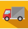 delivery truck service icon vector image