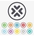 Enlarge or resize icon Full Screen extend vector image