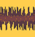Background with Equalizer Yellow and Violet Bright vector image