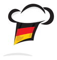 Germany chef hat vector image