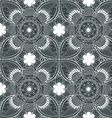 Lace White Endless Seamless Pattern vector image