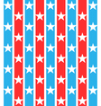Stars striped seamless pattern vector image