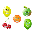 Cartoon Fruit Set 5 vector image