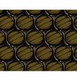 beer barrels seamless vector image vector image