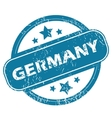 GERMANY round stamp vector image