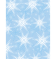 snowflake background and texture vector image
