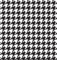 Classic houndstooth seamless Vector Image