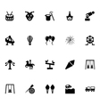 Amusement Park Icons 4 vector image