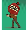 People in stress situations concept vector image