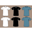 T-shirts design template vector image vector image