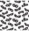carnival masks pattern vector image vector image