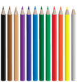 Pencils vector image vector image