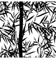 Bamboo leaf background Floral seamless texture vector image