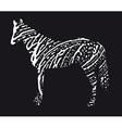 caballo resize vector image vector image