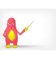 Funny Monster Showing vector image vector image