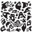 ghosts cartoons vector image vector image