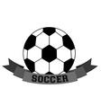 soccer sport design vector image