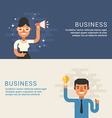People Profession Concept Businessman Male and vector image vector image