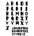 Abc - fonts vector image