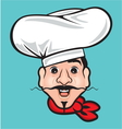 Comic Chef vector image