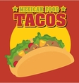 Fast and delicious food vector image