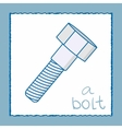 A bolt - vector image
