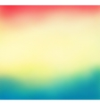 Colorful blurred background with lines vector image