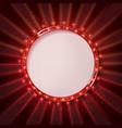 Round frame cinema vector image