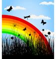 rainbow3 vector image vector image