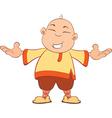 Cartoon of Chinese Boy vector image vector image