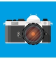 retro photo camera vector image
