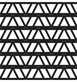 Black and white seamless pattern for background vector image
