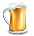 Jar of beer vector image