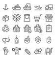 Business transportation element icons vector image vector image