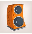 cartoons speaker vector image